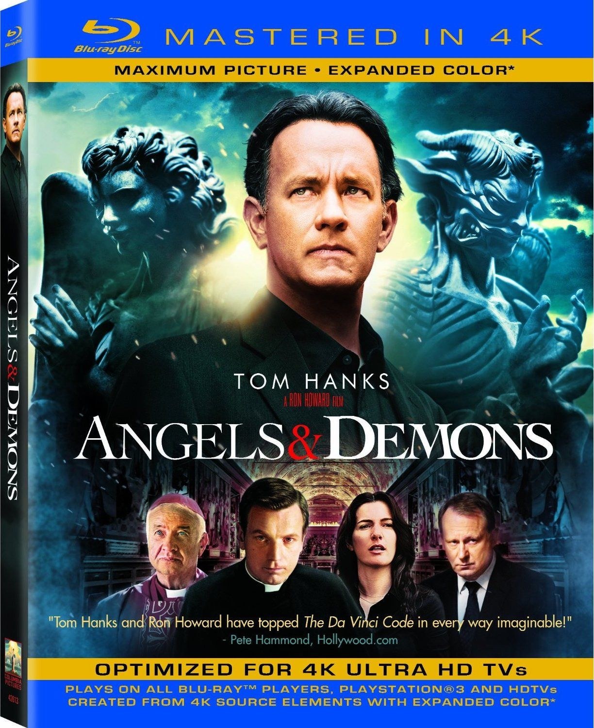 Angeli e Demoni (2009) Mastered in 4k Video Untouched 39.3 GB ITA_ENG DTS-HD MA+AC3 5.1 Subs MKV