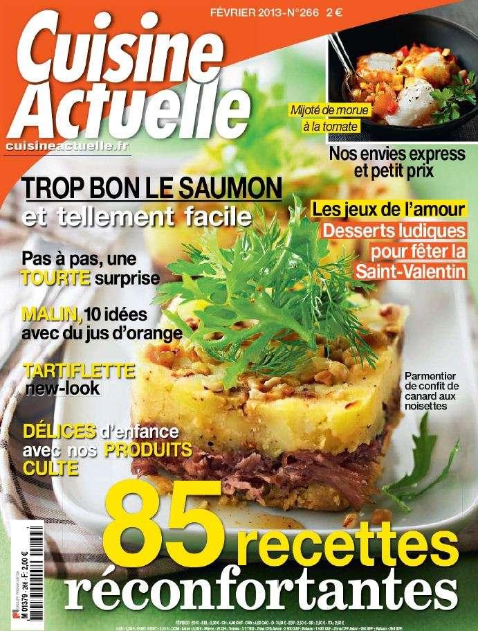 Cuisine Actuelle N°266 Février 2013