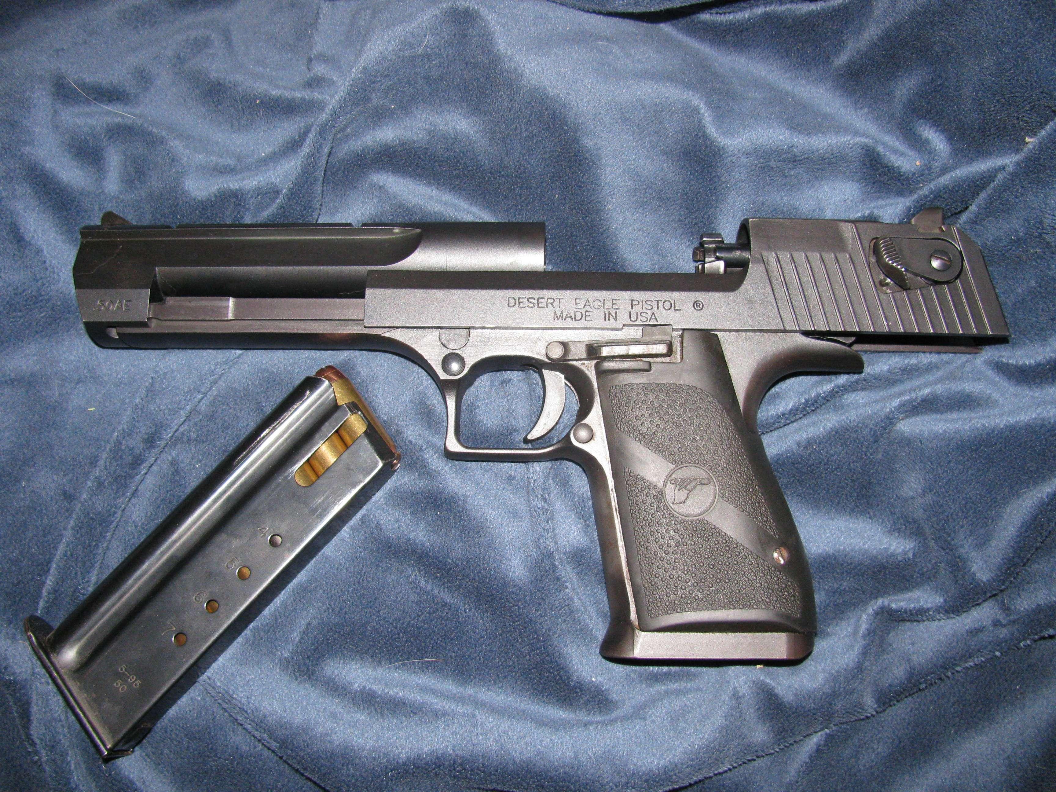 Wife's Desert Eagle - Semi-Auto Handguns