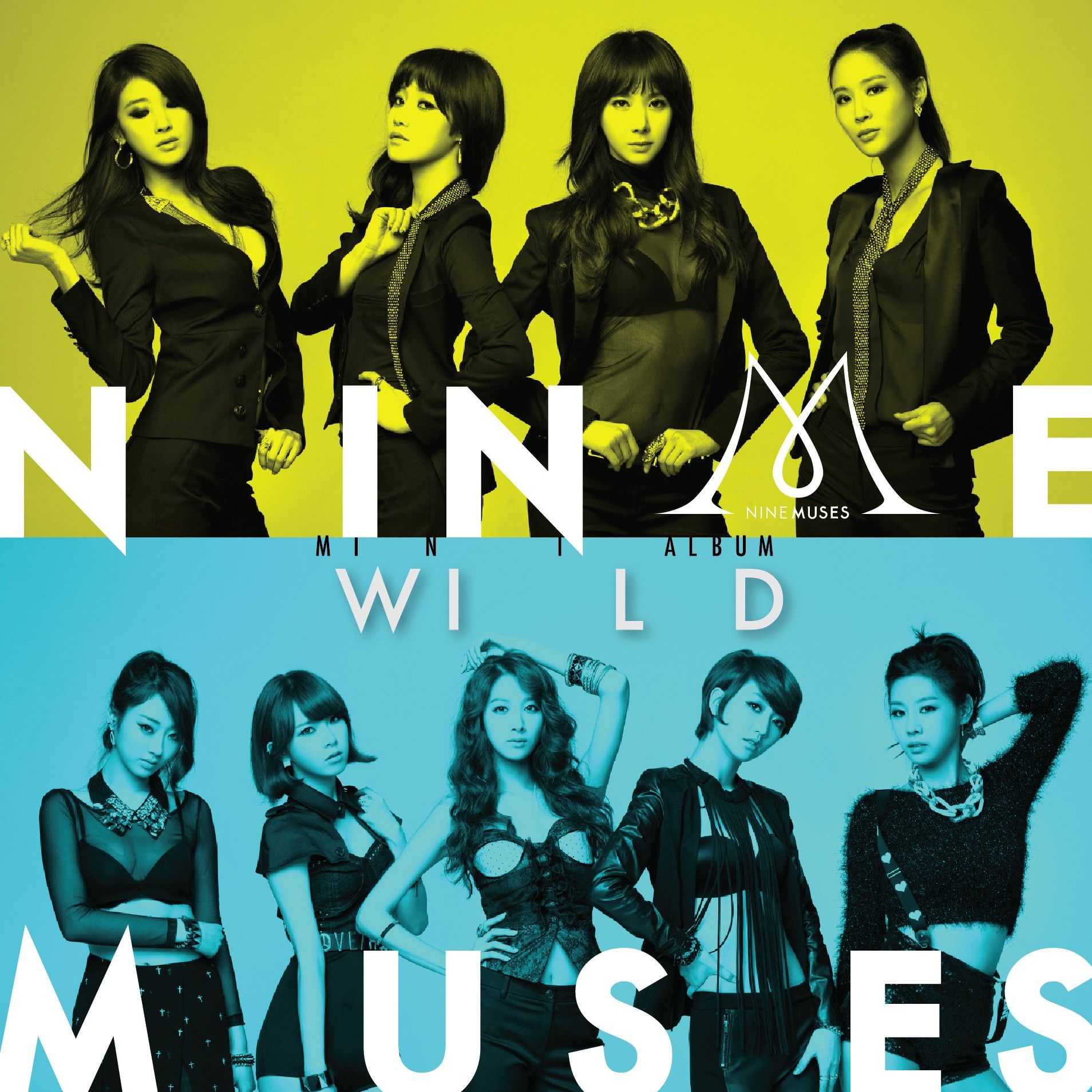 [Mini Album] Nine Muses - Wild [2nd Mini Album]