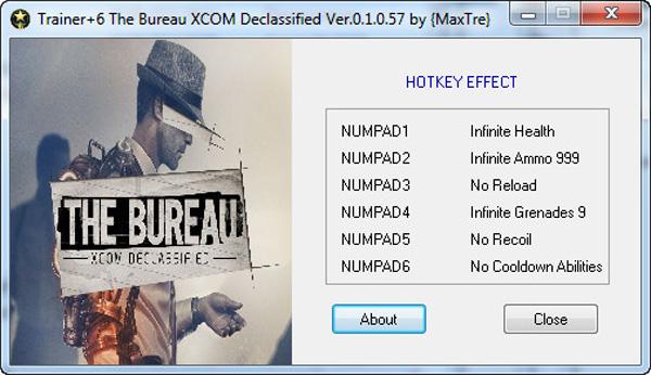 Gta vice city ultimate trainer 1 0 for Bureau xcom declassified trainer