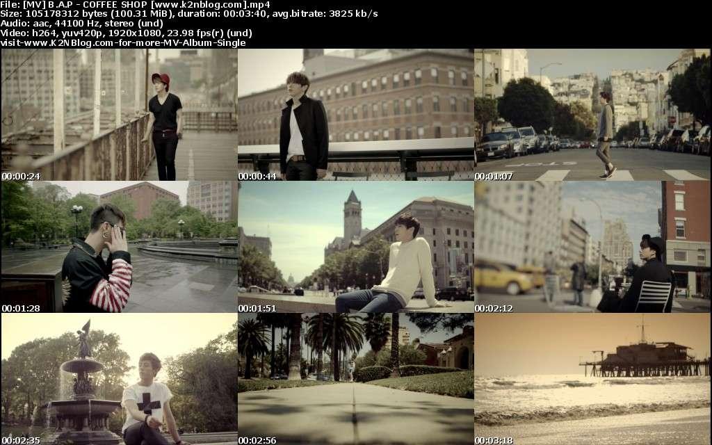 [MV] B.A.P   COFFEE SHOP [HD 1080p Youtube]