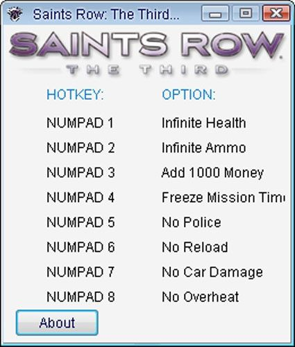 Saints row 2 unlimited money cheat xbox 360 ...