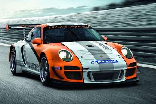 3c2d9f40151ff A Porsche revelou as primeiras imagens e detalhes de seu novo carro de  competição, o 911 GT3 R Hybrid. Baseado no 911 GT3 R, de tração traseira,  ...